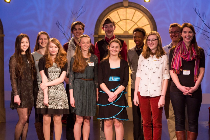 2013 Poetry Out Loud Virginia Champion