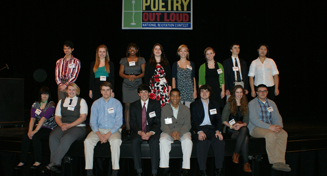 Poetry Out Lout | 2011 Winners